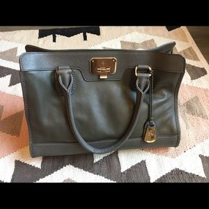 Cole haan leather tote satchel